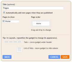 create pages in blogspot How to create static pages in blogspot.