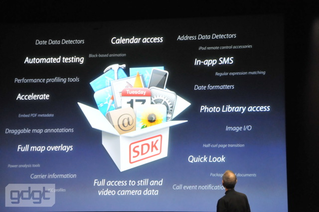 iPhone OS 4 unveiled, includes multitasking