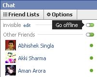 facebook chat go offline Stay Invisible on Facebook Chat for Single Person