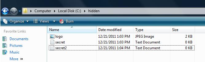 hide files How to hide files behind JPEG images.