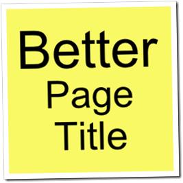 Adjust title tag blogspot Tweak title tag in blogspot for better SEO