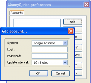 MoneyQuake 300x273 Firefox addons to check your Adsense Earnings on the go
